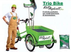 triciclo KaltAsphalt Plus a